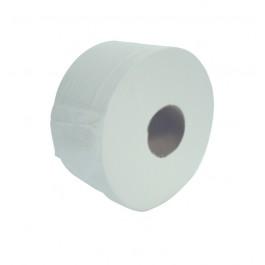 200m 2ply Mini Jumbo Toilet Rolls - Case of 12