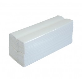 White 2ply Flushable C-fold Paper Towels - Case of 2432