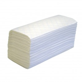 Papernet 403831 2ply White Executive Interleaved Paper Hand Towels