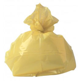 "Standard Duty Yellow Refuse Sacks 457x735x965mm (18X29X39"") - Box of 200"