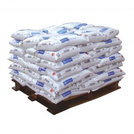 25 x 25kg Pure White Rock Salt - Half Pallet Deal