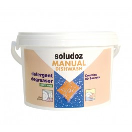 Soludoz Manual Lemon Dishwashing Detergent - 80 Doses