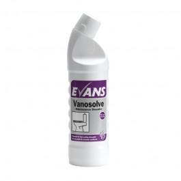 Evans Vanodine Vanosolve Toilet Descaler 1ltr