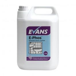 Evans Vanodine E-Phos Perfumed Cleaner Sanitiser 5Ltr