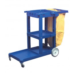Vinyl Bag For Mobile Janitorial Trolley