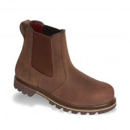 V12 Rawhide Brown Oiled Leather Dealer Safety Boot - Available In Sizes 6-13