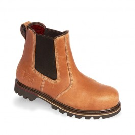V12 Stampede Vintage Leather Dealer Safety Boot - Available In Sizes 6-12