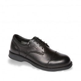 V12 Envoy Black Executive Oxford Safety Shoe - Available In Sizes 6-12