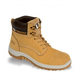 V12 VR6 Puma Honey Nubuck Hiker Safety Boot - Avaialable In Sizes 3-13