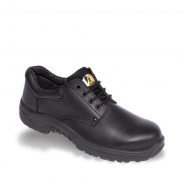 V12 VR6 Tiger Black Derby Safety Shoe - Available In Sizes 3-13