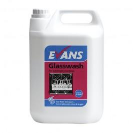 Evans Vanodine Glasswash Detergent 5ltr