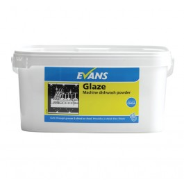 Evans Vanodine Glaze Machine 4in1 Dishwashing Powder 5kg