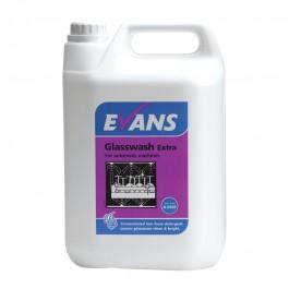 Evans Vanodine Glasswash Detergent Extra 5ltr