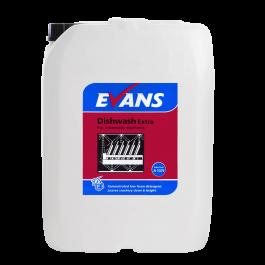 Evans Vanodine Dish Wash Detergent Extra 20ltr