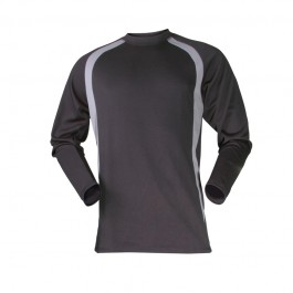 Black Thermal Baselayer Long Sleeve Vest - Available in Sizes Small - XX-Large