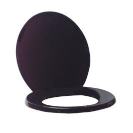 Value Black Plastic Toilet Seat