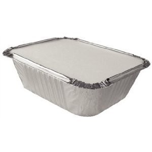 No 2 Foil Container with Lids