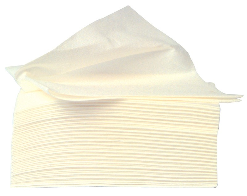 Airlaid Wipers Quarterfold 60gsm - 400 Wipes