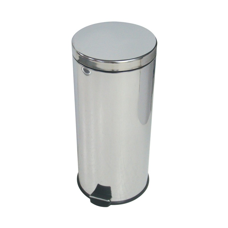 30ltr Stainless Steel Pedal Bin