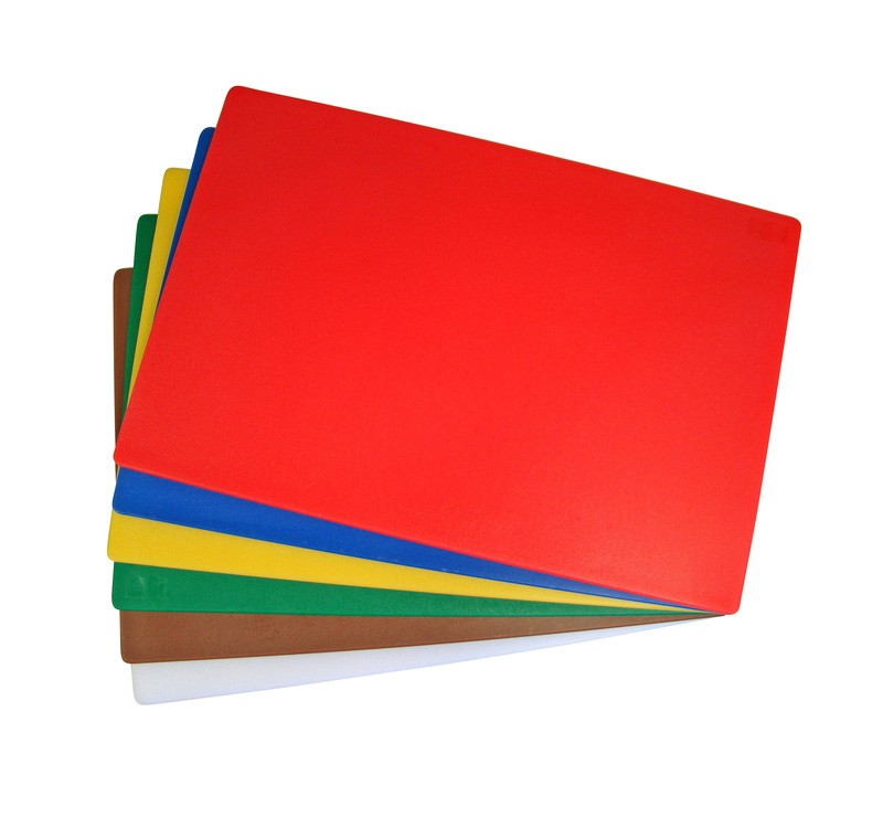 """300x450mm (12x18"""") Plastic Chopping Board - Colour Coded"""