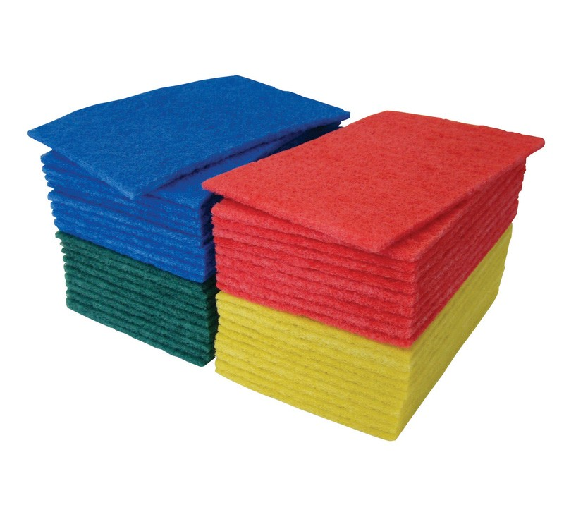 """23x15cm (9x6"""") Scouring Hand Pads - Case of 50"""