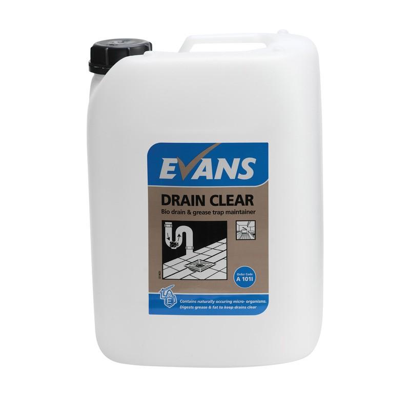 Evans Vanodine Drain Clear Enzyme Maintainer 10ltr