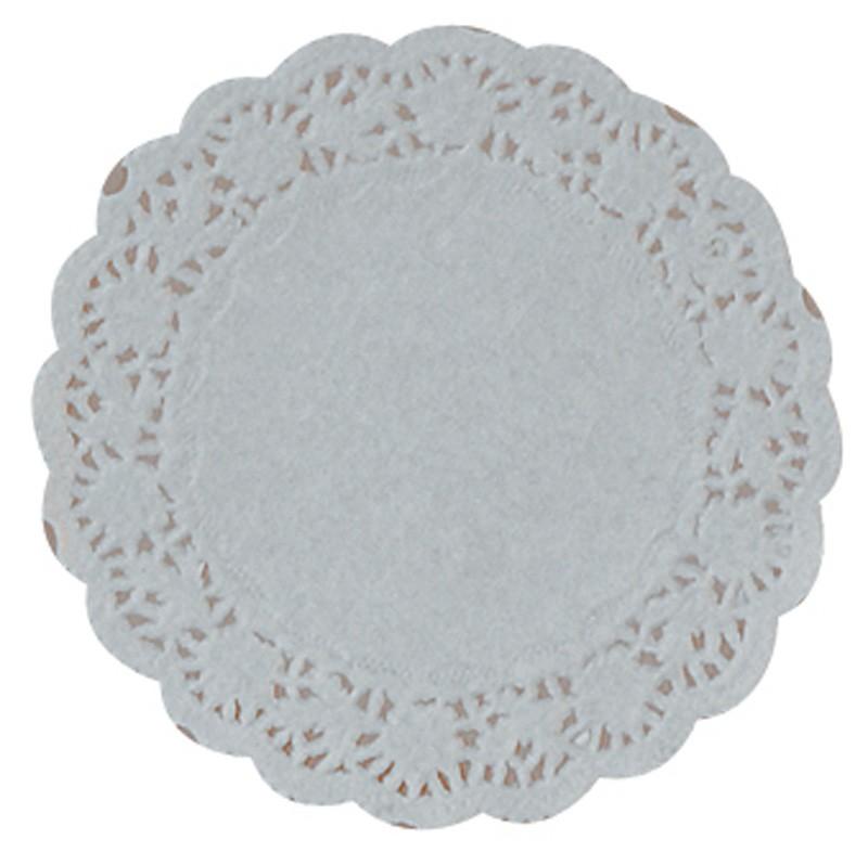 """14cm (5.5"""") Round Lace Paper Doilies - 2000 per Case"""