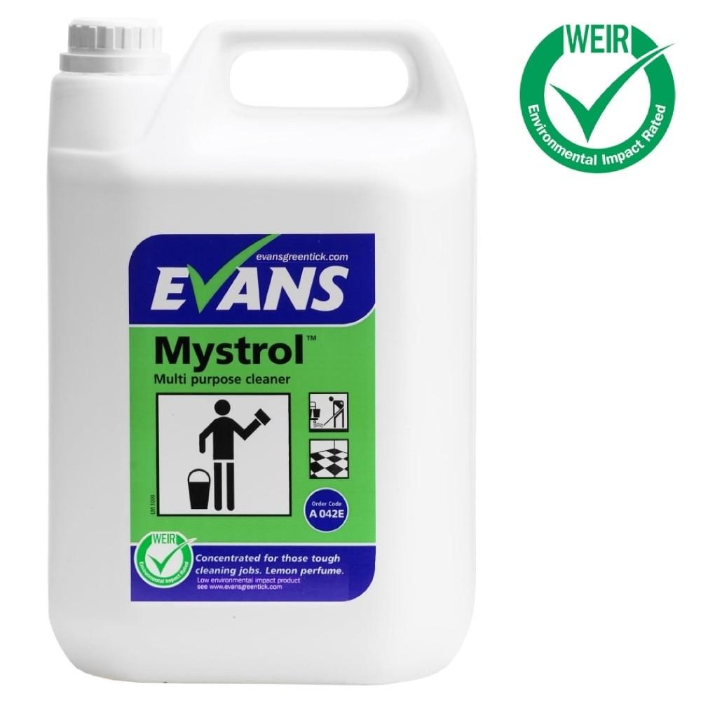 Evans Vanodine Mystrol Multi Purpose Cleaner 5ltr