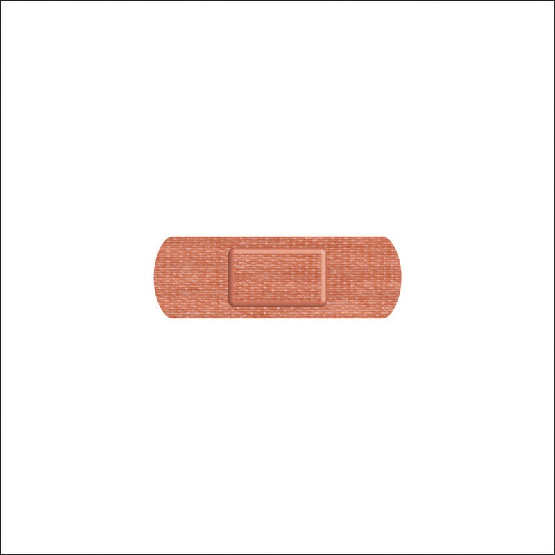 25x75mm Fabric Finger Plasters - Case of 100