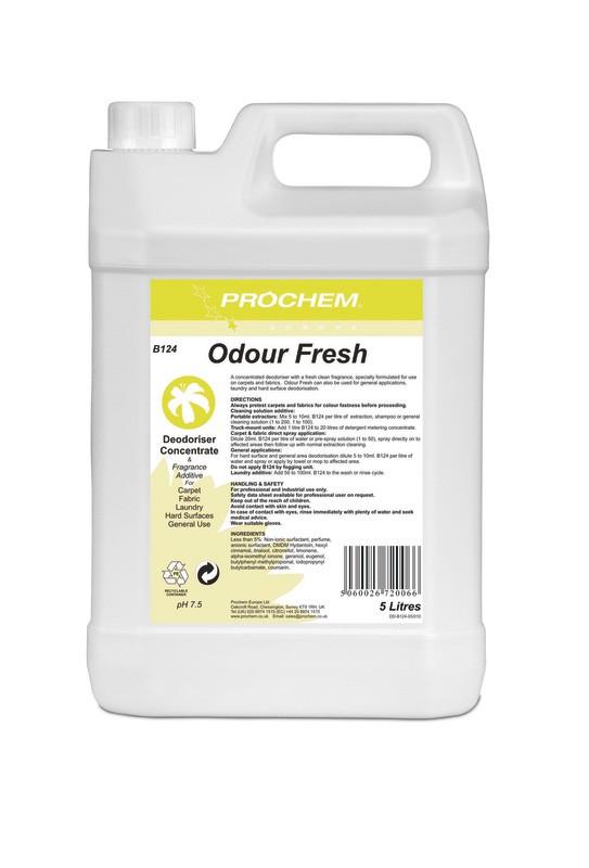 Prochem B124 Odour Fresh 5ltr
