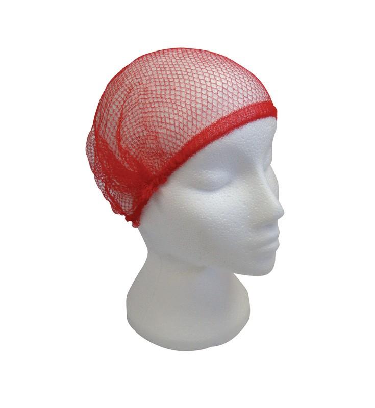 Coarse Mesh Disposable Hair Nets - Pack of 100
