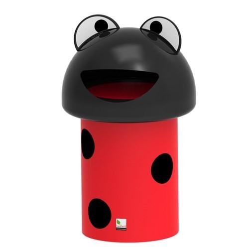 Ladybug Litter Bin 60ltr