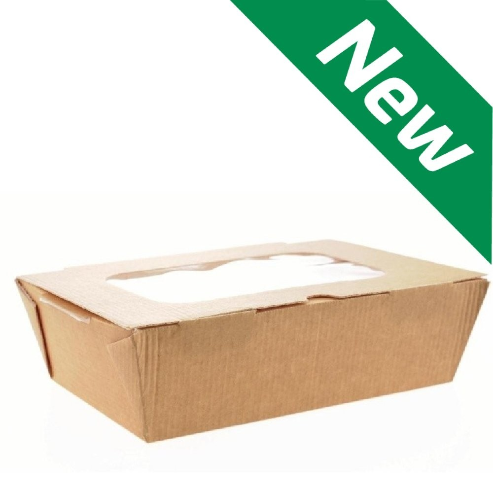 Salad Box with Window (Case of 180)