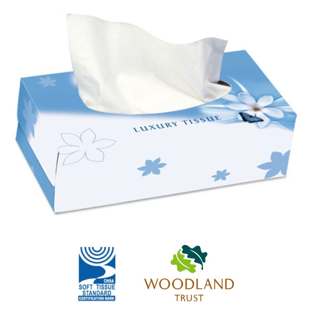 Nicky Soft Touch Family Facial Tissues - 15 boxes of 124