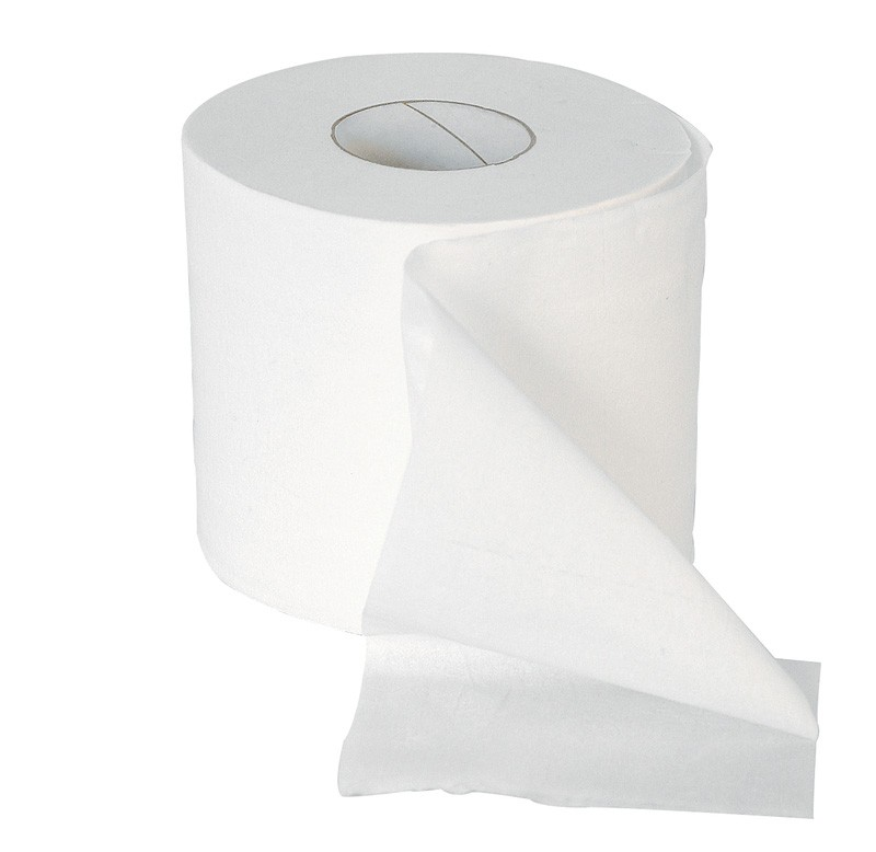 Premier White 320 Sheet 2ply Coventional Toilet Rolls - 36 per Case
