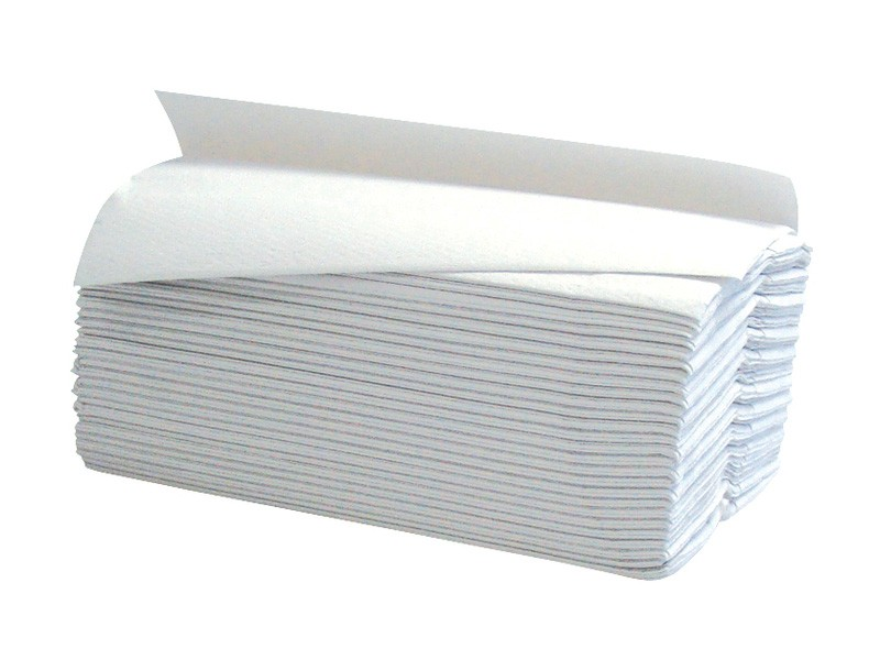 White 2ply C Fold Paper Hand Towels - 2355 per Case