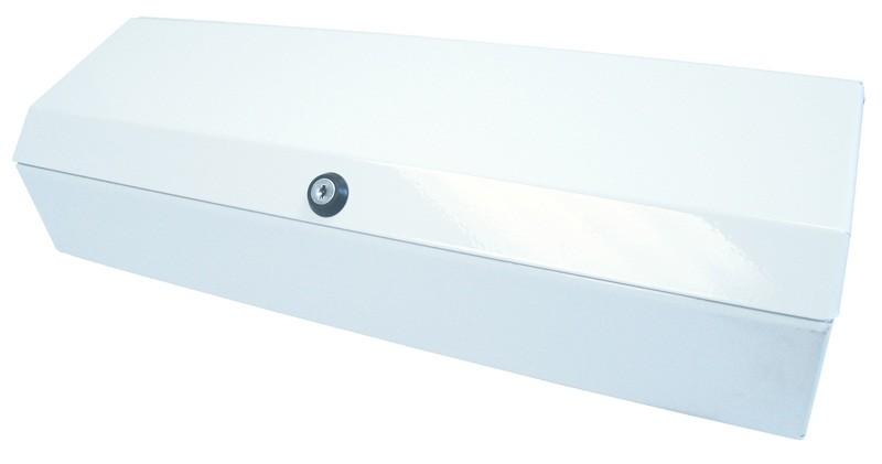 """50cm (20"""") White Metal Hygiene Roll Dispenser"""