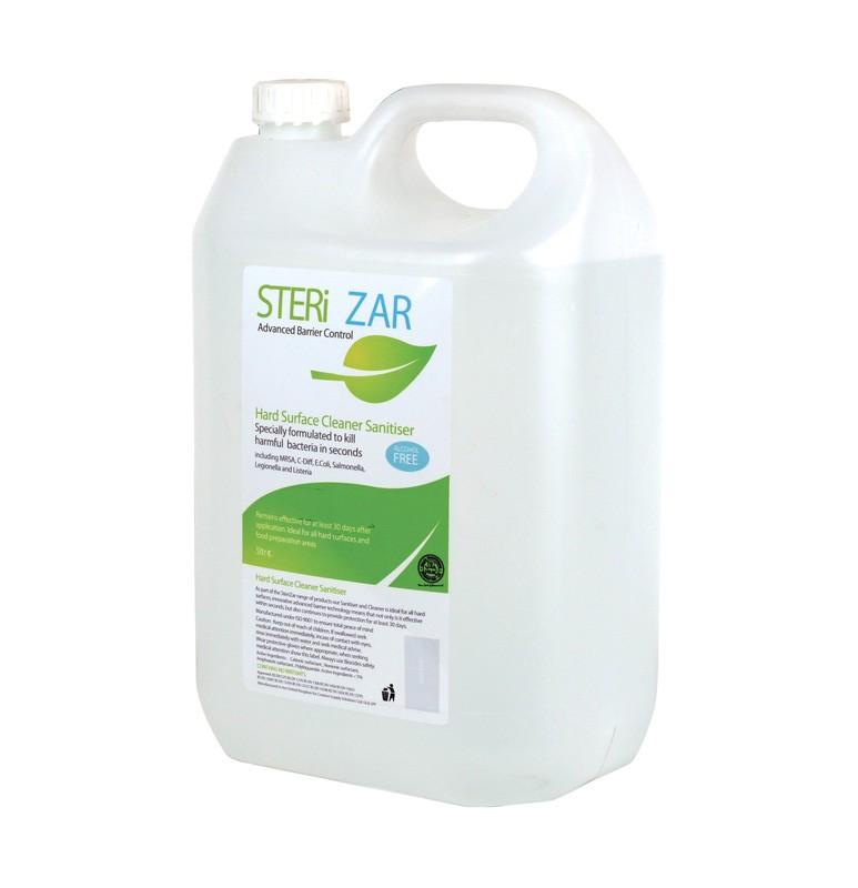 Sterizar Alcohol Free Hard Surface Sanitiser Cleaner - 5ltr