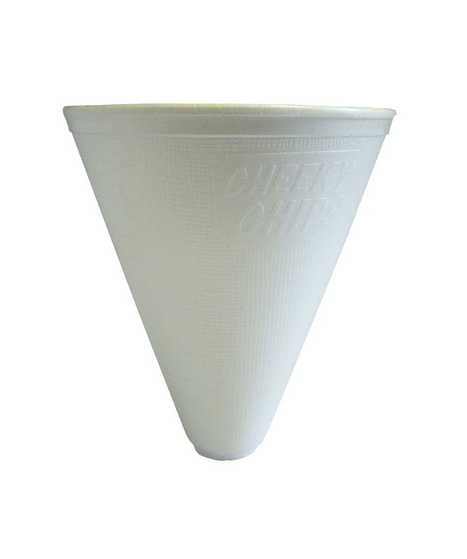 12oz Insulated Chip Cones - Case of 500