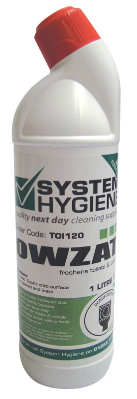 Owzat Toilet Freshener and Cleaner 1Ltr