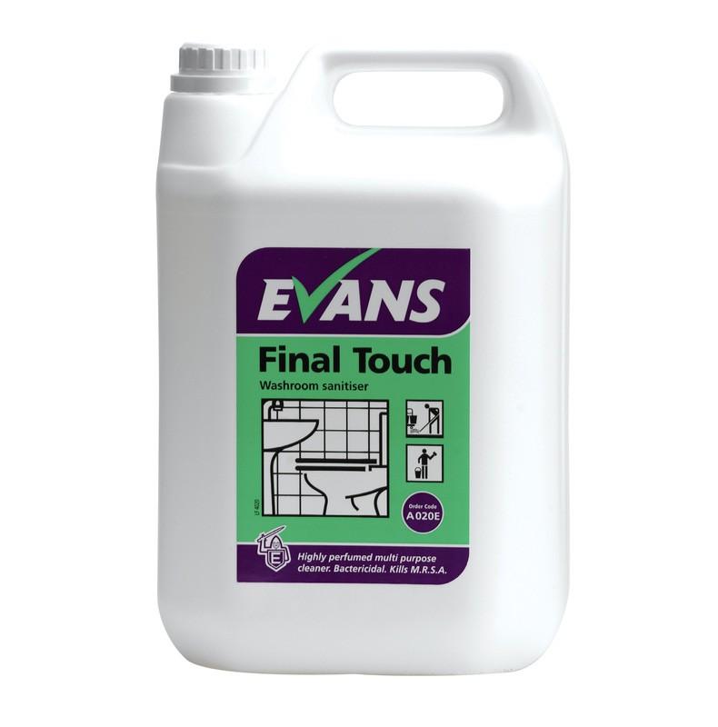 Evans Vanodine Final Touch Washroom Cleaner 5ltr
