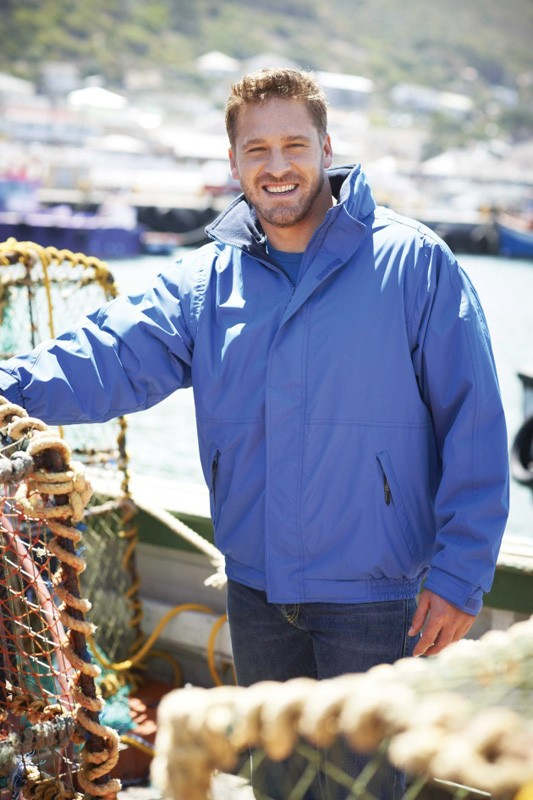 Regatta TRW297 Dover Waterproof Jacket - Available In Black, Classic Red, Dark Green, Navy, Royal Blue and Seal Grey