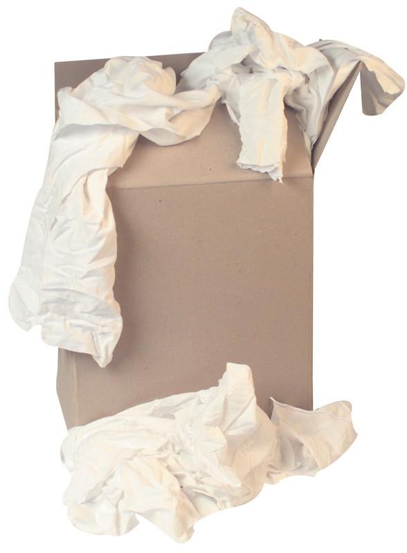 Economy White Cotton Wipers 10kg