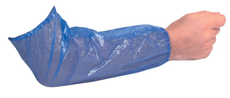 Blue Polythene Oversleeves - 1000 per Case
