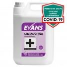 Evans Vanodine Safe Zone Plus Virucidal Cleaner Disinfectant 5ltr