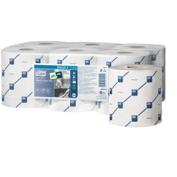 473264 Tork Reflex White Wiping Paper Plus Centre Pull Rolls