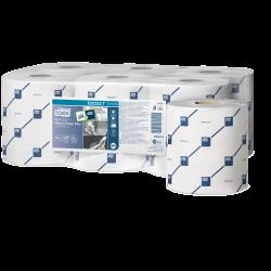 473264 Tork Reflex White Wiping Paper Plus Centre Pull Rolls
