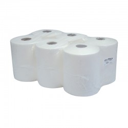 22x28cm 180 Sheet Airlaid Centre-Feed Rolls - Case of 6