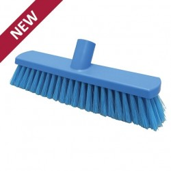 280mm Hillbrush Foodservice Soft Sweeping Brush (Blue)