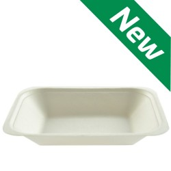 Bagasse Medium Chip Tray - Compostable